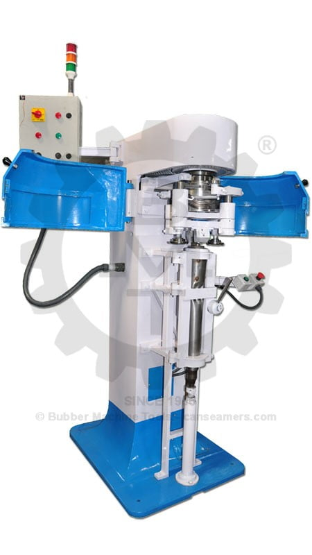 Muffler Seamer, Muffler Seaming machine, Silencer Seamer, Silencer Seaming machine