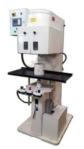 Automobile Filter Seamer, Automobile Filter Seaming machine, spin-on filter seaming machine.